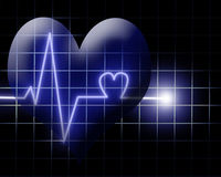Heart beat Stock Images
