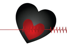 Heart beat Stock Photos