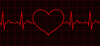 Heart beat. Cardiogram. Cardiac cycle. Heart beat cardiogram. Sign Cardiac cycle. Vector logo for web design, mobile and infographics. Vector illustration eps10 royalty free illustration
