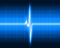 Heart beat image Stock Images