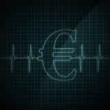 Heart Beat Monitor Stock Photo