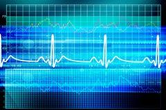 Heart beat monitor Stock Photography
