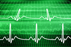 Heart beat monitor Royalty Free Stock Photos