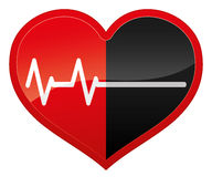 Heart beat. Royalty Free Stock Photo