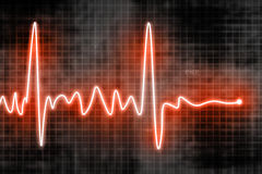 Heart beats Royalty Free Stock Images