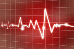 Heart beats Royalty Free Stock Photos