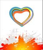 Heart beautiful. Royalty Free Stock Photo