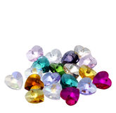 Heart bijoux. On white background Stock Image