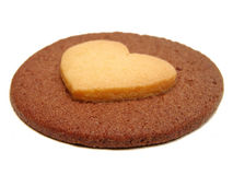 Heart Biscuit Royalty Free Stock Photos