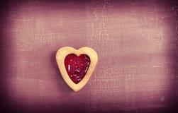 Heart biscuit Stock Photo