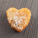 Heart biscuit Stock Image