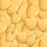 Heart biscuits Stock Photography