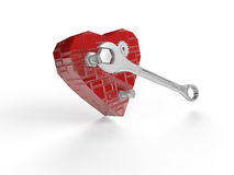 Heart bit Royalty Free Stock Images