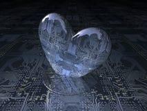 Heart bit Royalty Free Stock Photos
