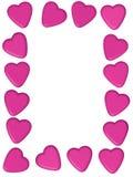 Heart Boarder Royalty Free Stock Photos