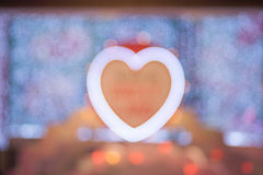 Heart bokeh Royalty Free Stock Photography
