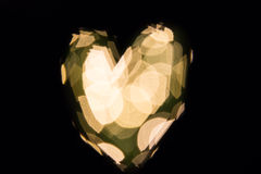 Heart bokeh Royalty Free Stock Image