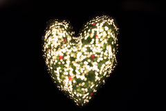 Heart bokeh Royalty Free Stock Images