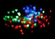 Heart Bokeh Royalty Free Stock Photo