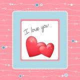 Heart2 bonito Imagens de Stock