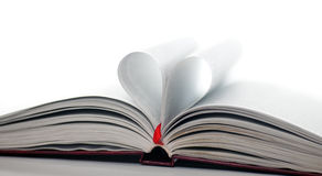 Heart book Stock Images