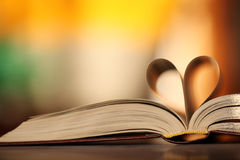 Heart of the book Stock Photography