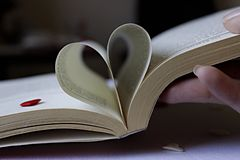 Heart of the book Royalty Free Stock Photos
