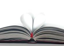 Heart book Royalty Free Stock Photo