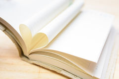 Heart book Royalty Free Stock Images