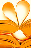 Heart of books Royalty Free Stock Image