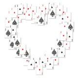 Heart border Royalty Free Stock Photo