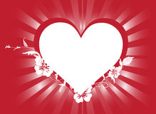Heart border Royalty Free Stock Photos
