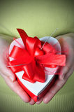 Heart in a Box Stock Photography