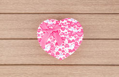 Heart box Stock Images