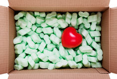 Heart in the box Royalty Free Stock Photo