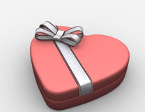 Heart box. Royalty Free Stock Image
