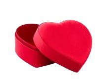 Heart box on white Royalty Free Stock Photo