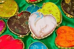 Heart boxes Stock Photos