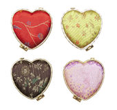 Heart boxes Royalty Free Stock Photos