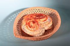 Heart bread Stock Photography