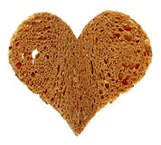 Heart of bread Royalty Free Stock Image