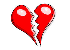 Heart broken Stock Images