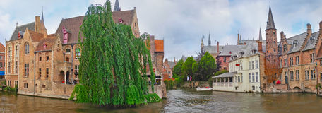 In heart of Bruges Royalty Free Stock Images