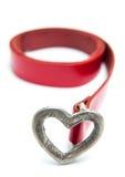 Heart buckle belt Stock Image