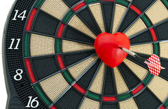 Heart Bull's Eye Royalty Free Stock Photography
