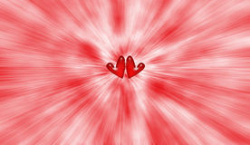 Heart burst Royalty Free Stock Images