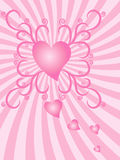 Heart Burst Royalty Free Stock Photos