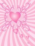 Heart Burst Royalty Free Stock Photos