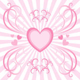 Heart Burst Stock Photography