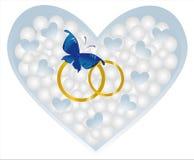 Heart butterfly Stock Photo